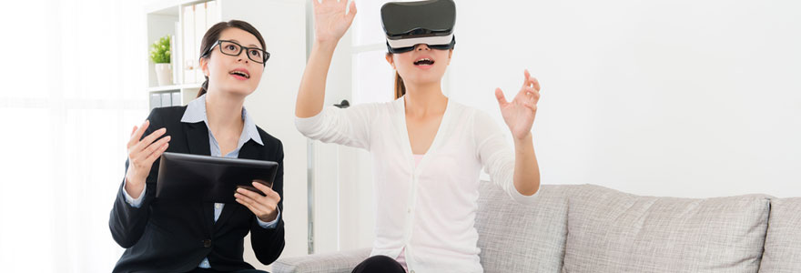 Création de site internet avec visite virtuelle